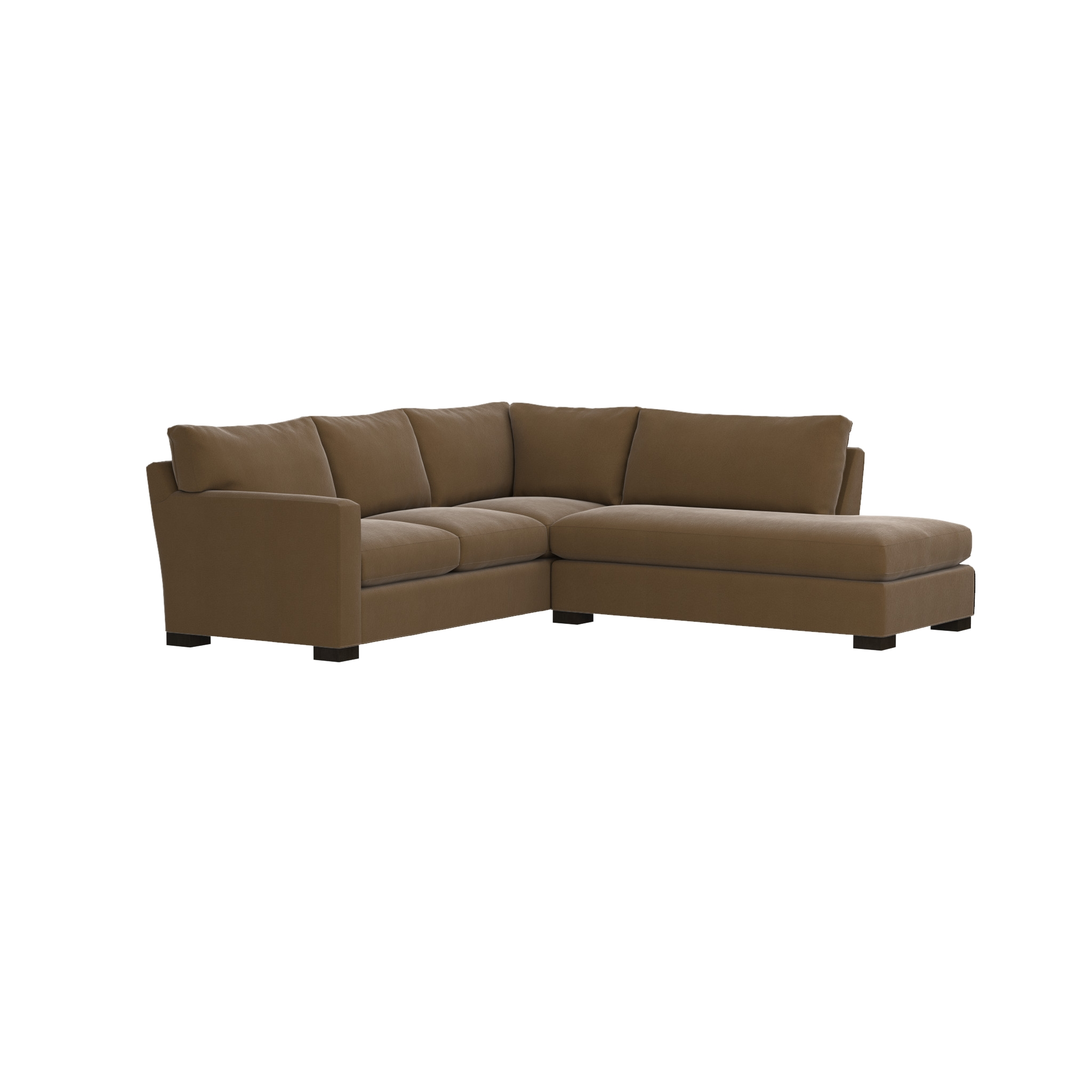 Axis Ii Bumper Sectional | Crate And Barrel Regarding Crate And Barrel Sectional (Image 9 of 15)