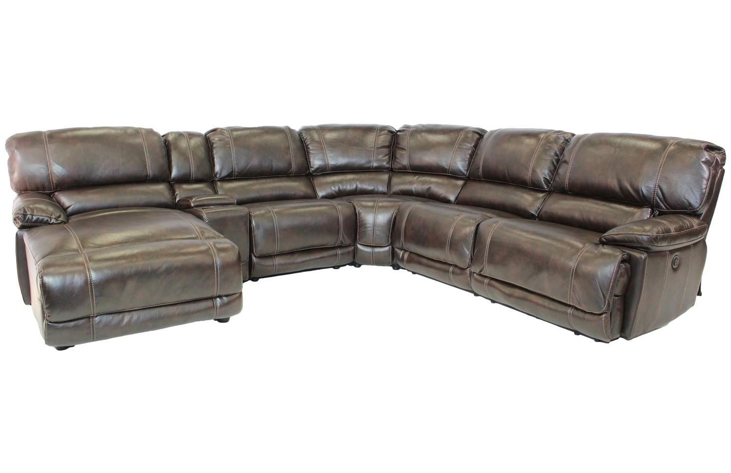 Azul Left Facing Reclining 6 Piece Chaise Sectional | Mor With 6 Piece Sectional Sofas Couches (View 16 of 20)