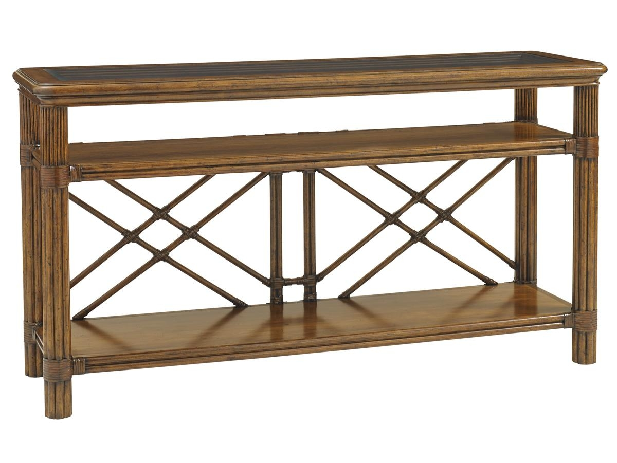 Bali Hai Islander Console | Lexington Home Brands Within Sofa Back Console (Image 1 of 20)