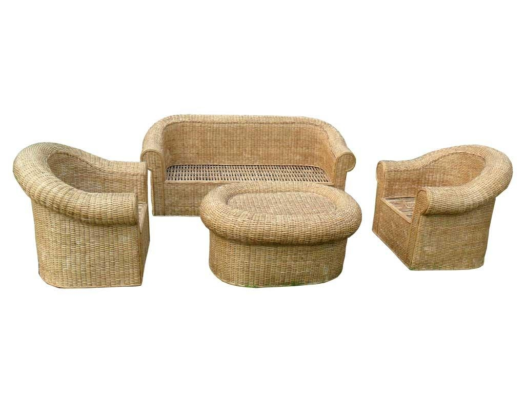Bamboo Sofa Set With Design Gallery 21235 | Kengire Inside Ken Sofa Sets (Image 3 of 20)
