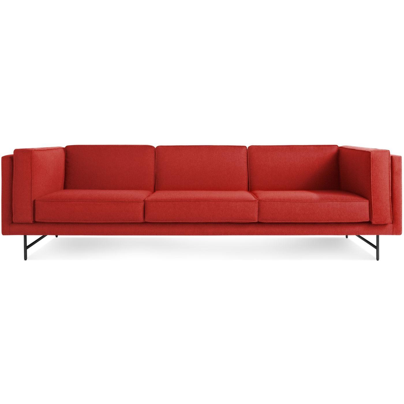 "Bank 96"" Deep Seat Sofa – Low Profile Sofa   Blu Dot Inside Blu Dot Sofas (Image 2 of 20)"