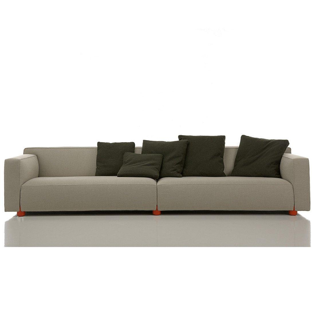 Barber Osgerby 4 Seater Sofaedward Barber And Jay Osgerby — Haus® In Four Seat Sofas (Image 7 of 20)