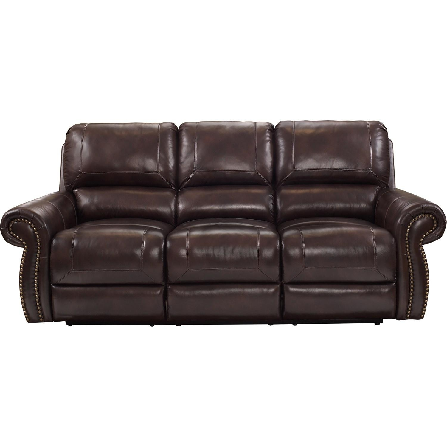 Barcalounger 353027315086 Nora Sofa Recliner In Barton Amber Throughout Barcalounger Sofas (Image 1 of 20)