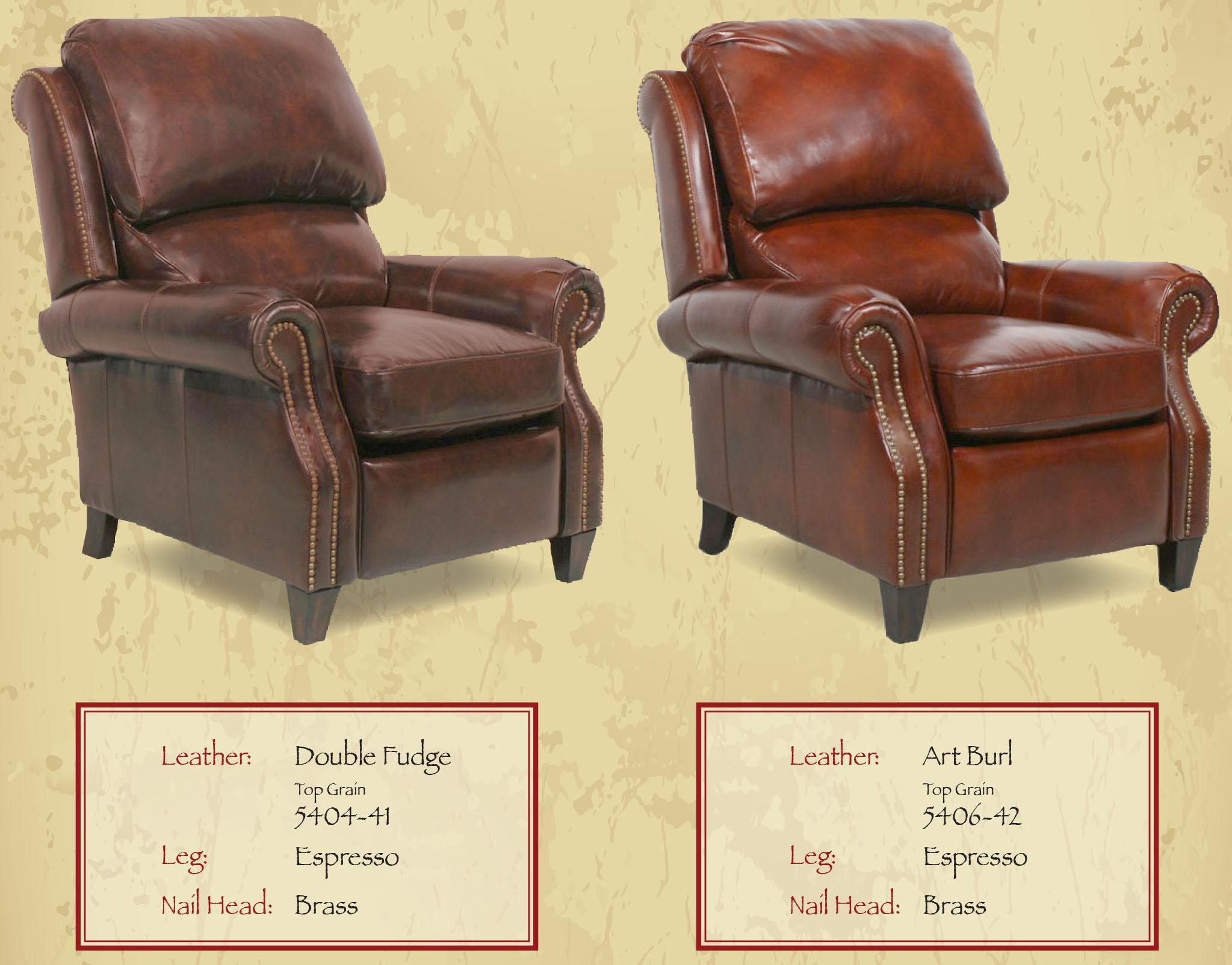 Barcalounger Churchill Ii Recliner Chair – Leather Recliner Chair In Barcalounger Sofas (Image 3 of 20)