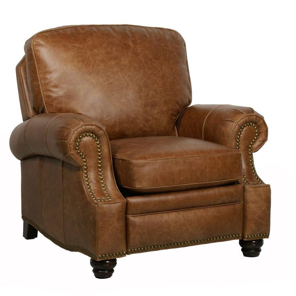 Barcalounger Longhorn Ii Leather Recliner Chair – Leather Recliner For Barcalounger Sofas (Image 9 of 20)