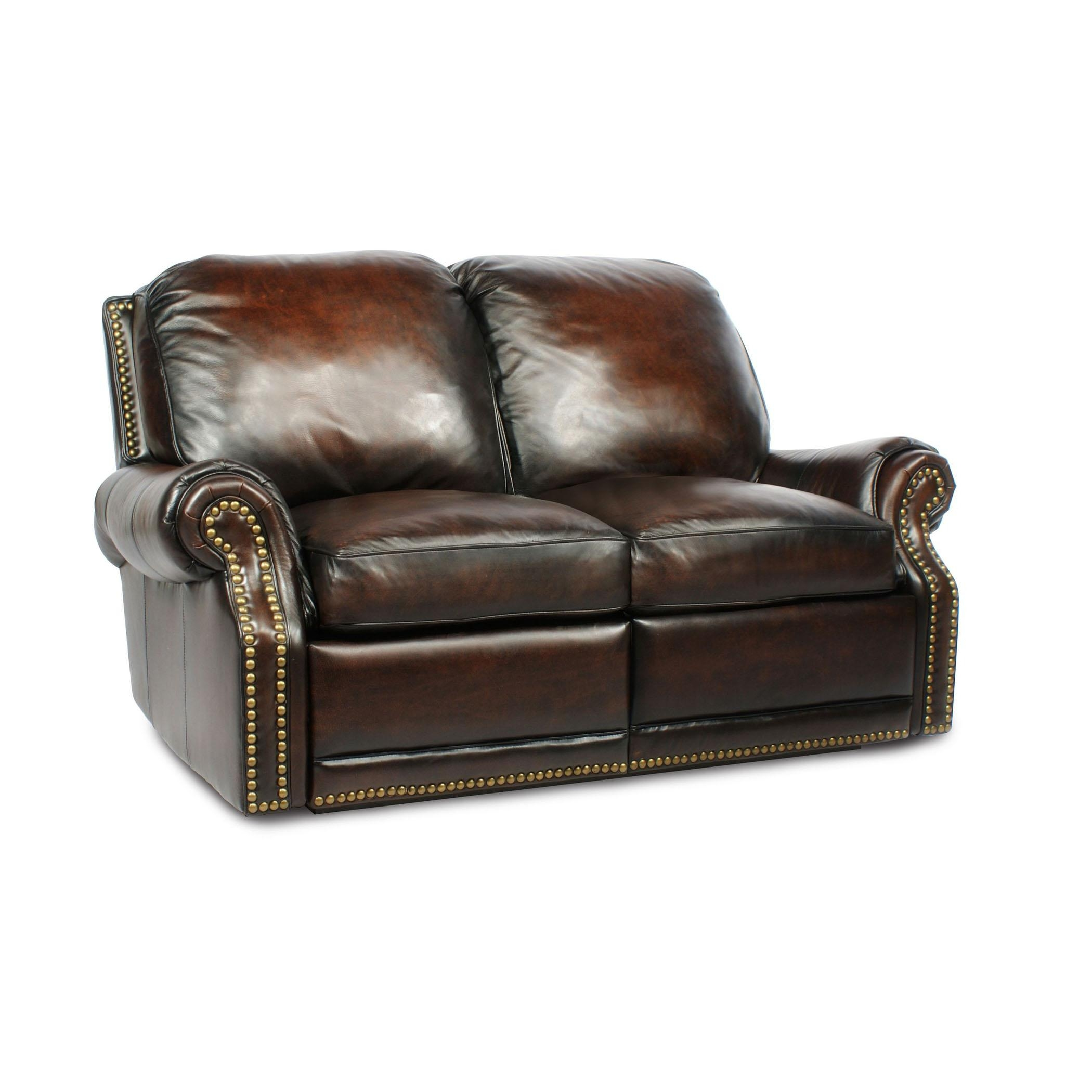 Barcalounger Premier Ii Leather 2 Seat Loveseat Sofa – Leather 2 For Barcalounger Sofas (Image 12 of 20)
