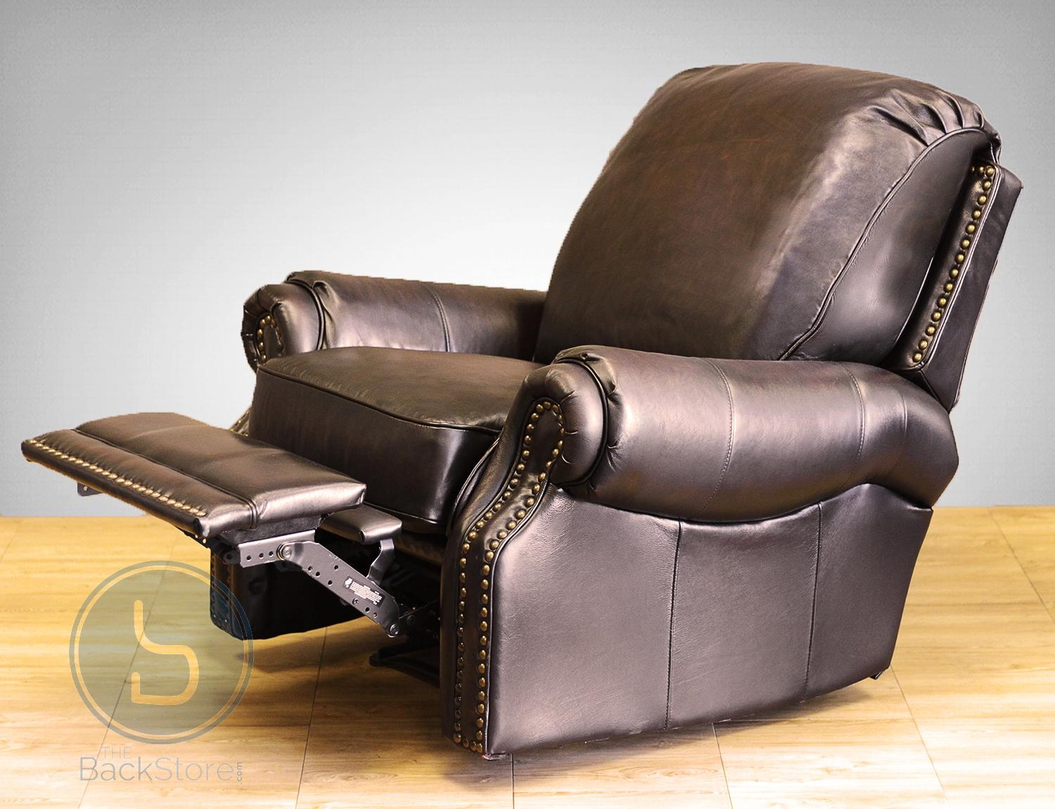 Barcalounger Premier Ii Leather Recliner Chair – Leather Recliner Inside Barcalounger Sofas (Image 13 of 20)