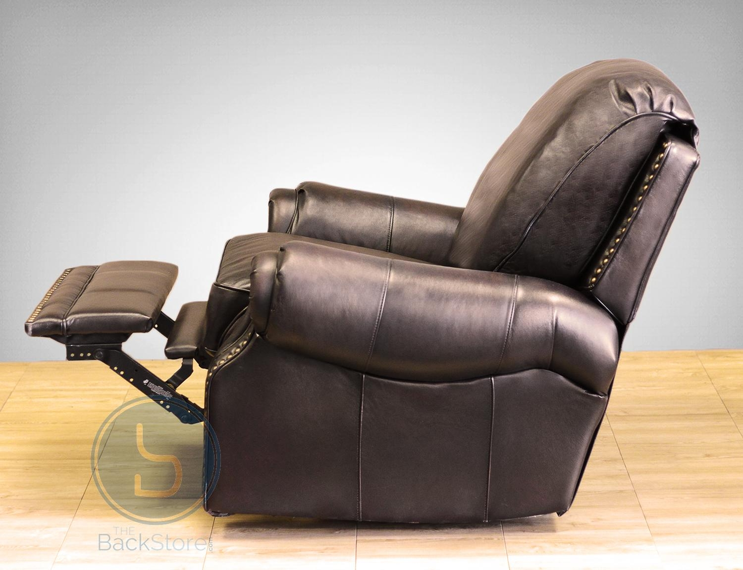 Barcalounger Premier Ii Leather Recliner Chair – Leather Recliner Throughout Barcalounger Sofas (Photo 12 of 20)