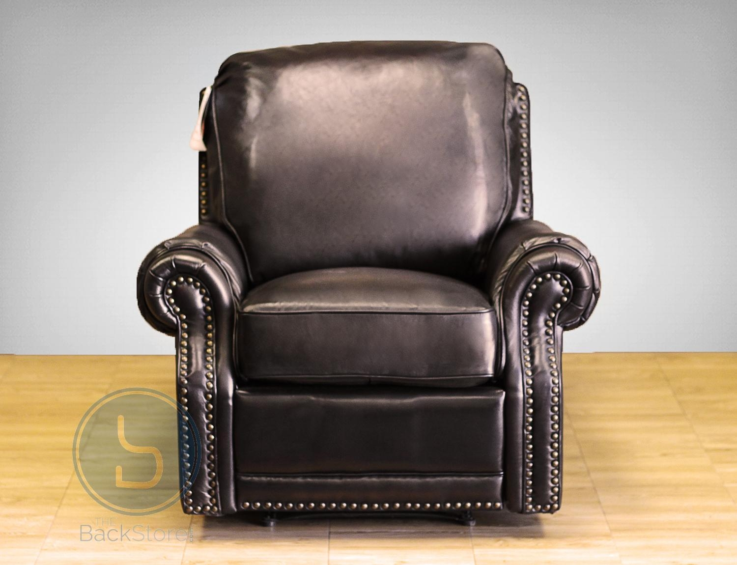 Barcalounger Premier Ii Leather Recliner Chair – Leather Recliner Within Barcalounger Sofas (Photo 11 of 20)