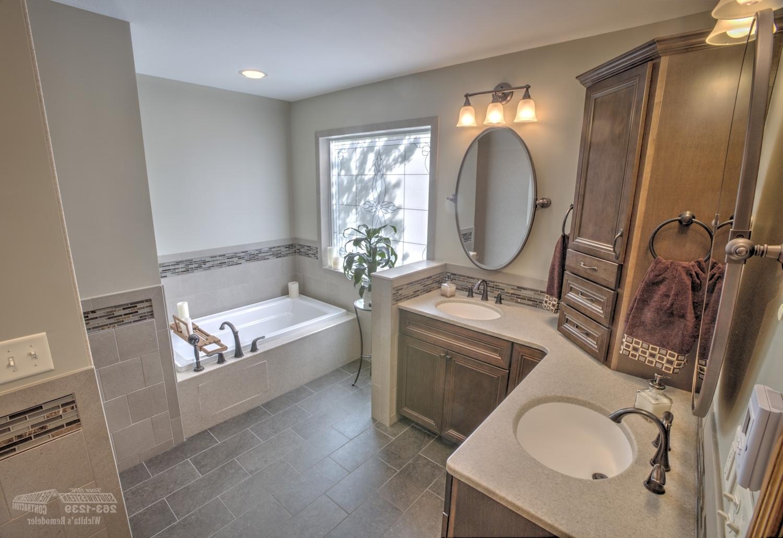 Bathroom Remodeling | Southwestern Remodeling | Wichita In Bathroom Remodel (View 5 of 33)