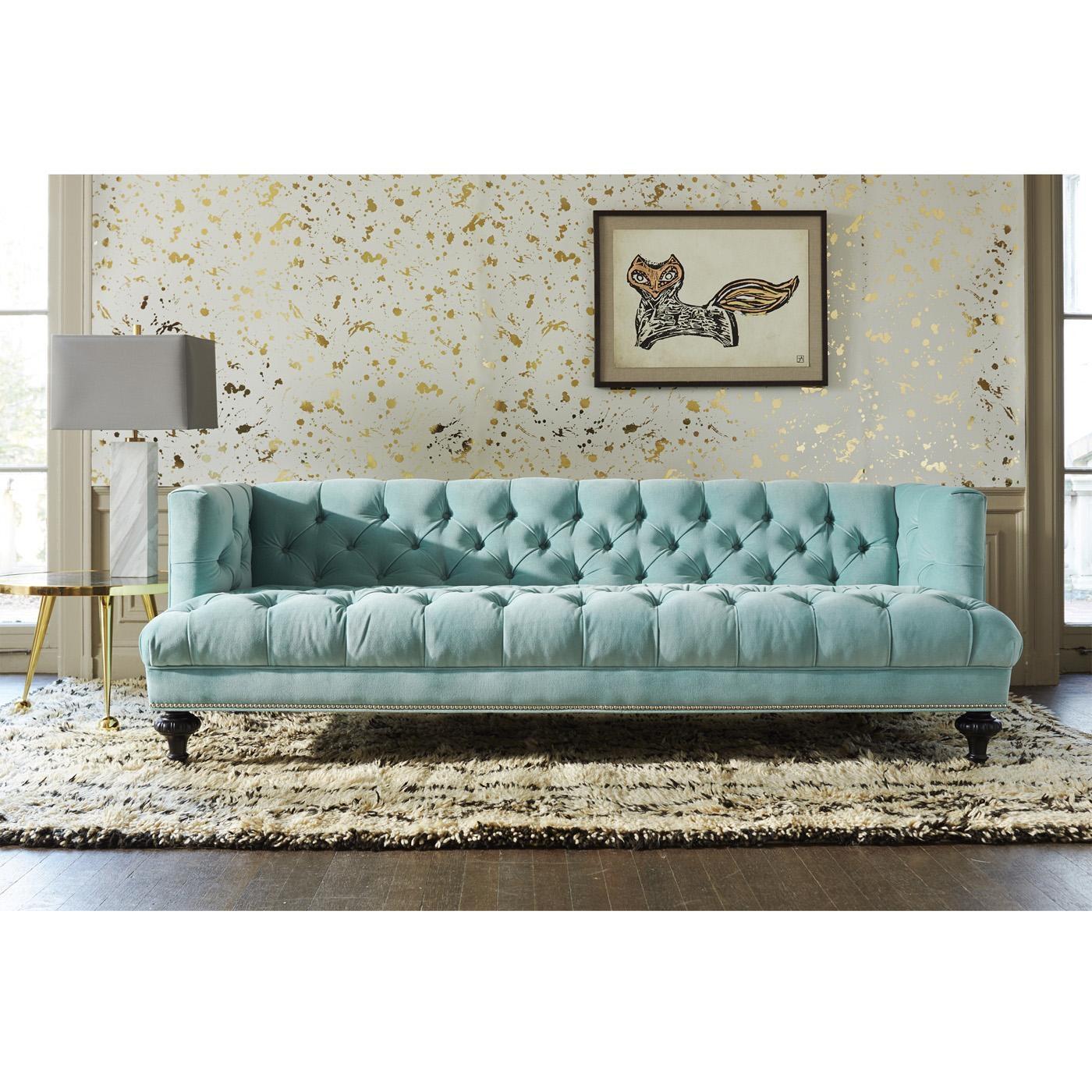 Baxter T Arm Sofa | Modern Furniture | Jonathan Adler Pertaining To Jonathan Sofa (Image 3 of 20)