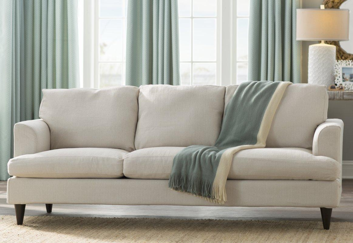 Beachcrest Home Lowes Slipcover Sofa & Reviews | Wayfair With Regard To Chintz Covered Sofas (Photo 5 of 20)