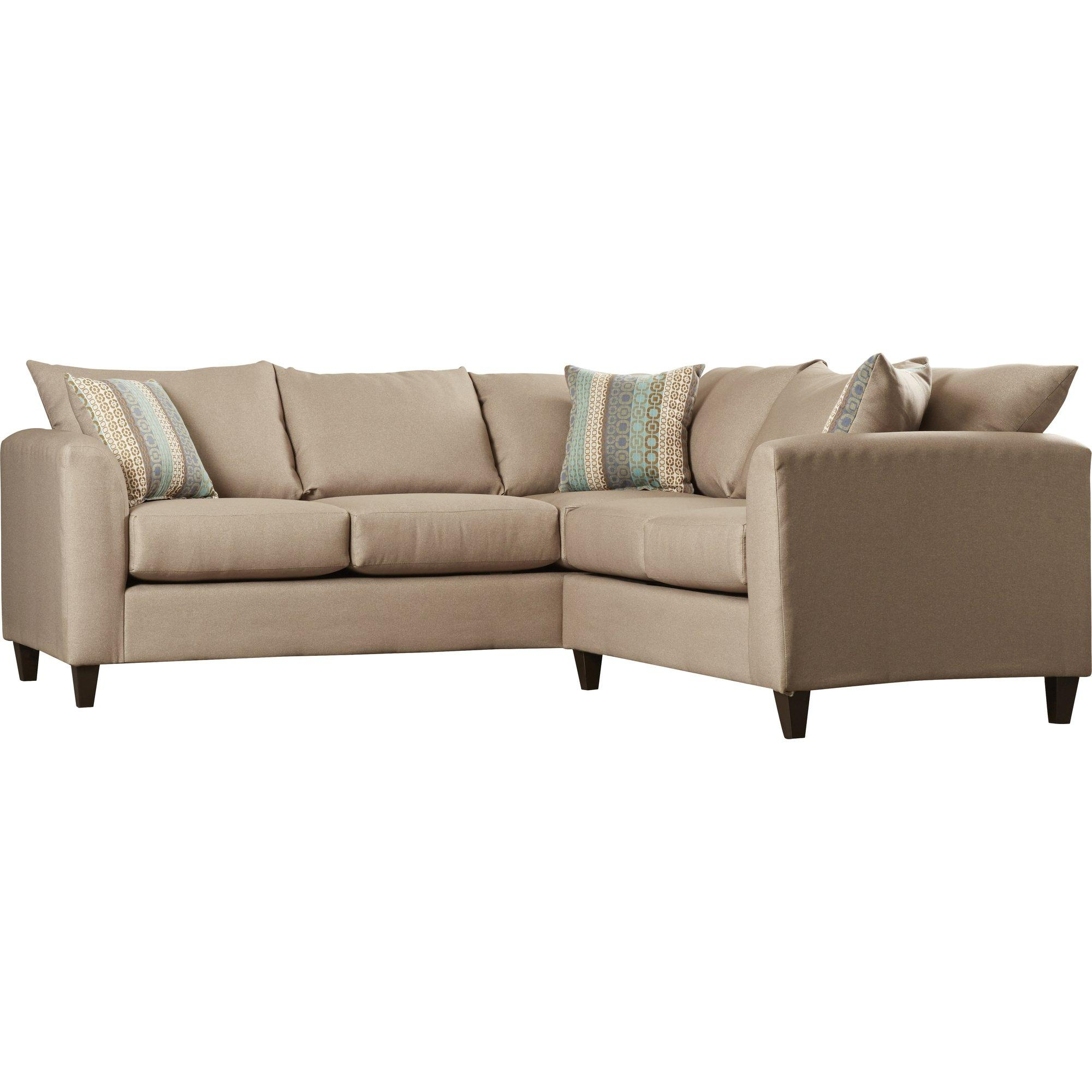 Beachcrest Home Serta Sectional & Reviews | Wayfair Supply Throughout Serta Sectional (Image 6 of 20)