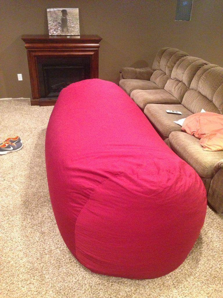 Bean Bag Sofa / Bed: 8 Steps (With Pictures) Within Bean Bag Sofas And Chairs (View 2 of 20)
