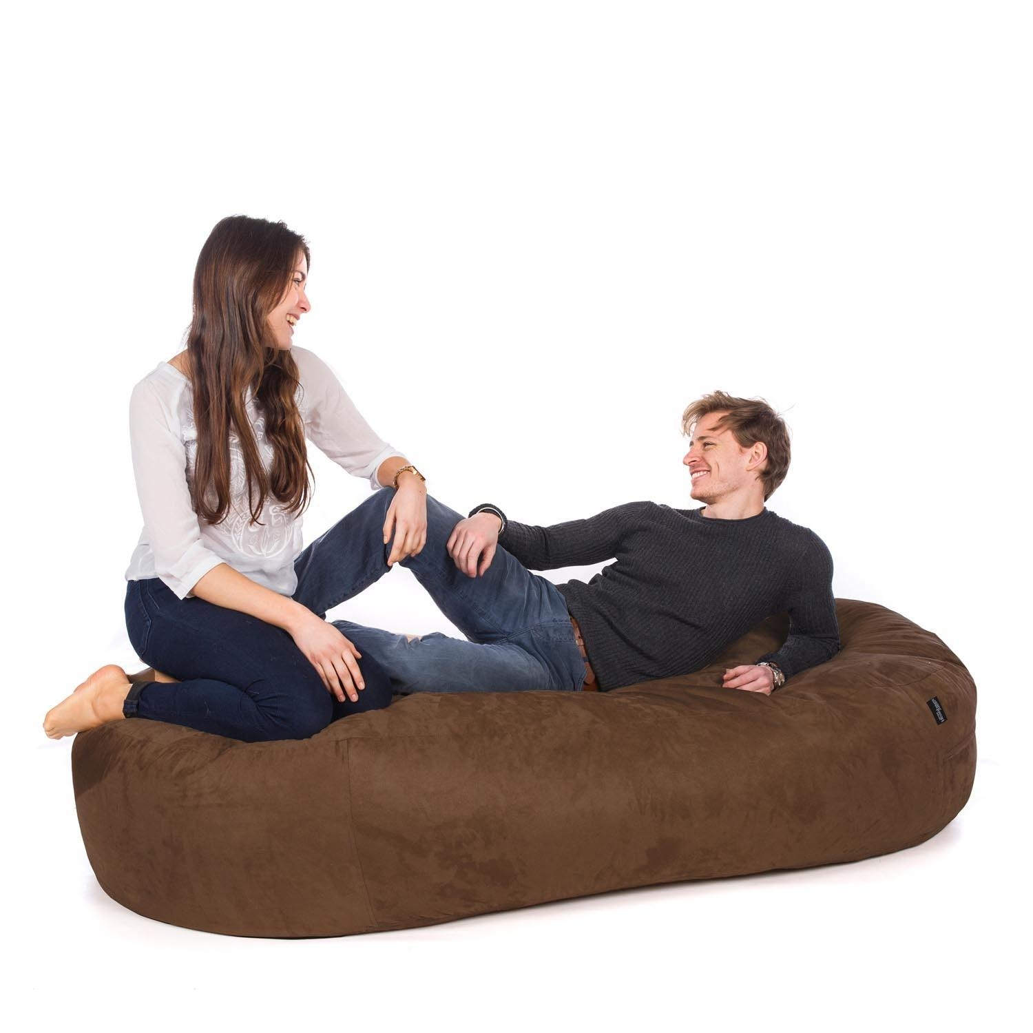 Bean Bag Sofa Beds | Uk Manufactured – Greatbeanbags™ Inside Bean Bag Sofa Chairs (Image 6 of 20)