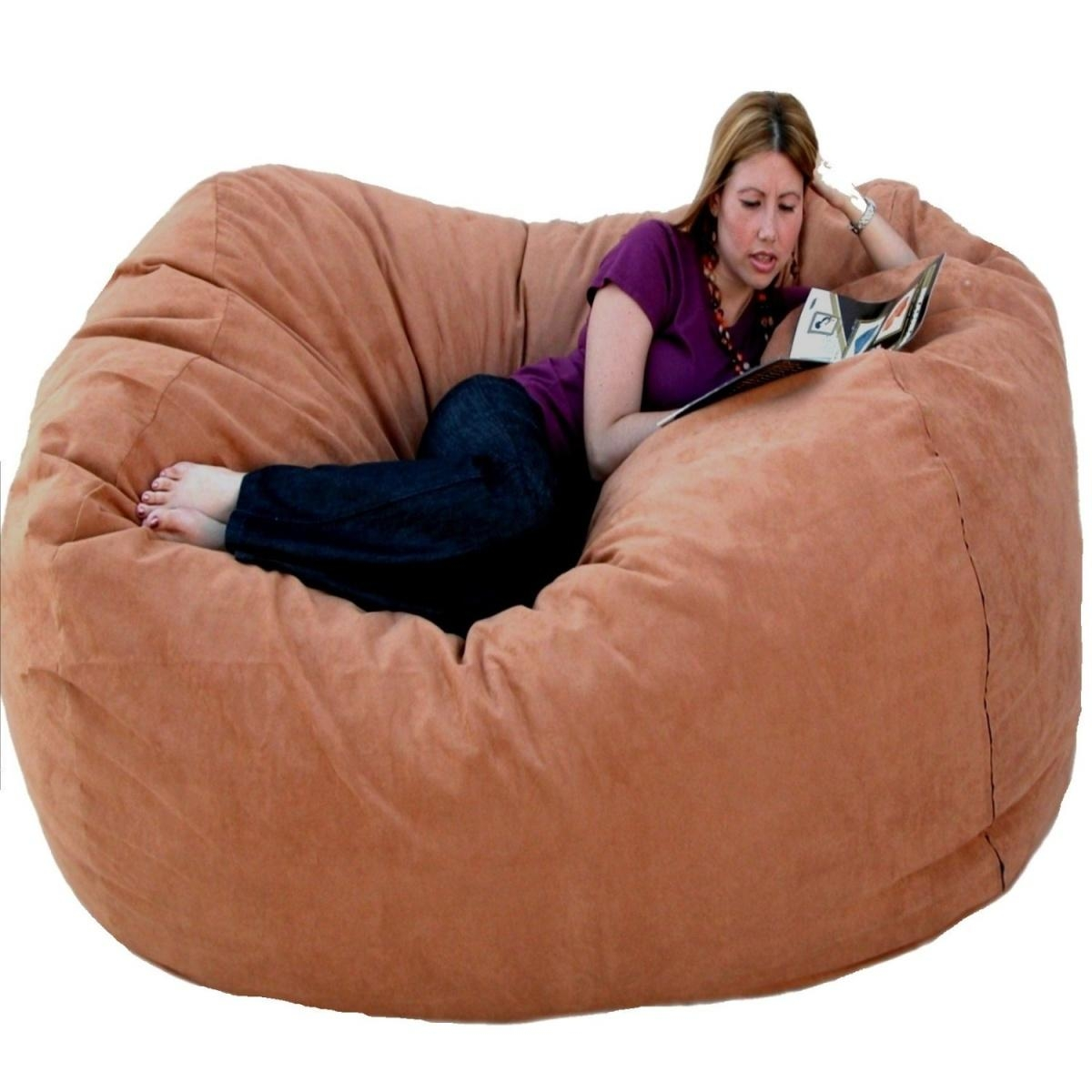 Beanbag Chair Giant Bean Bag Chairs The Green Head – Gallery Image Within Giant Bean Bag Chairs (View 11 of 20)