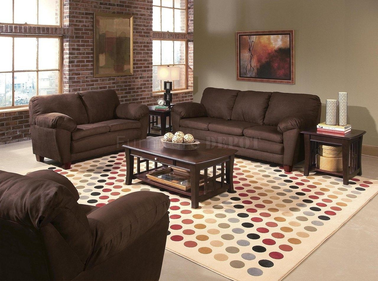 Beauteous 80+ Living Room Design Ideas Brown Furniture Design Intended For Living Room With Brown Sofas (Image 4 of 20)
