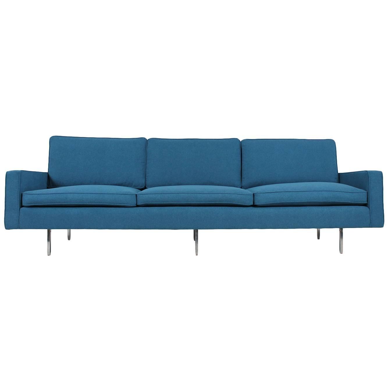 Beautiful Mid Century Florence Knoll Sofa Mod (Image 1 of 20)