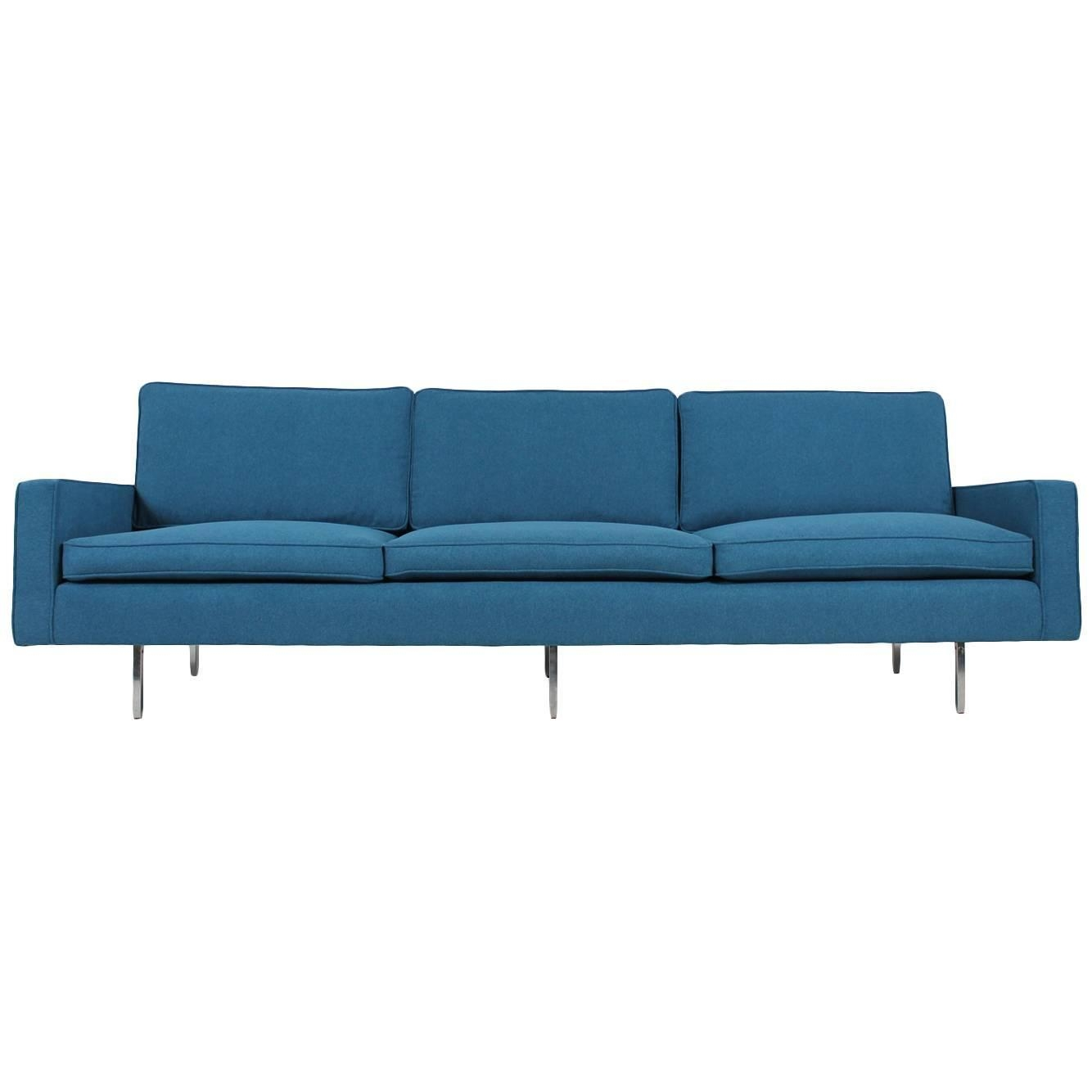 Beautiful Mid Century Florence Knoll Sofa Mod (Image 1 of 20)