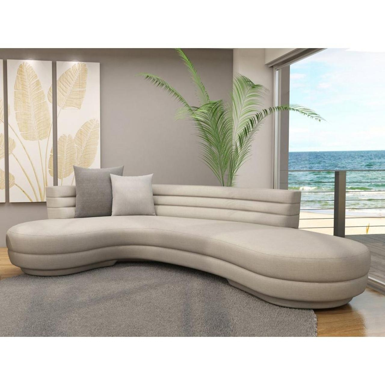 Beautiful Round Sectional Sofas – Sectional Sofas And Couches Throughout Round Sectional Sofa (Image 1 of 20)