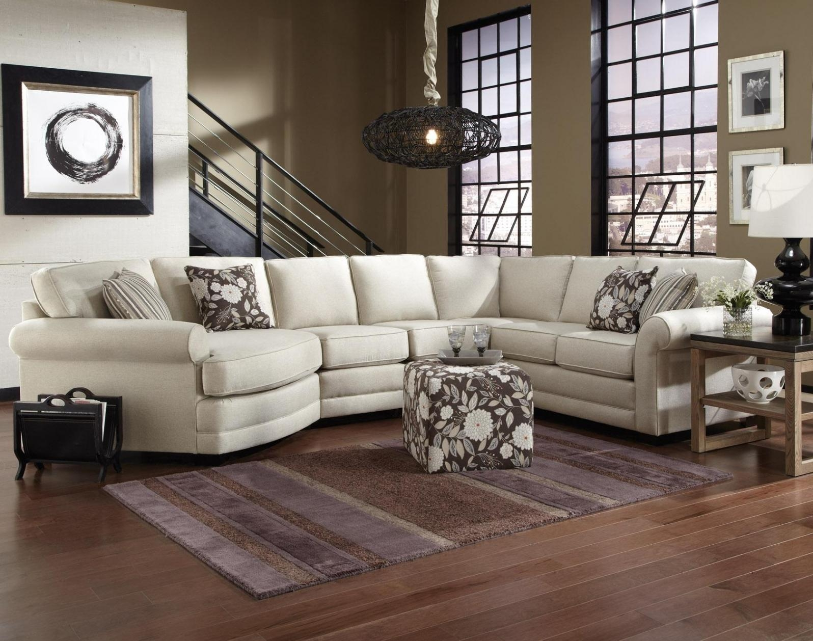 Beautiful Sectional Sofa With Cuddler Chaise | Sofa Ideas Regarding Sectional Sofa With Cuddler Chaise (View 8 of 20)