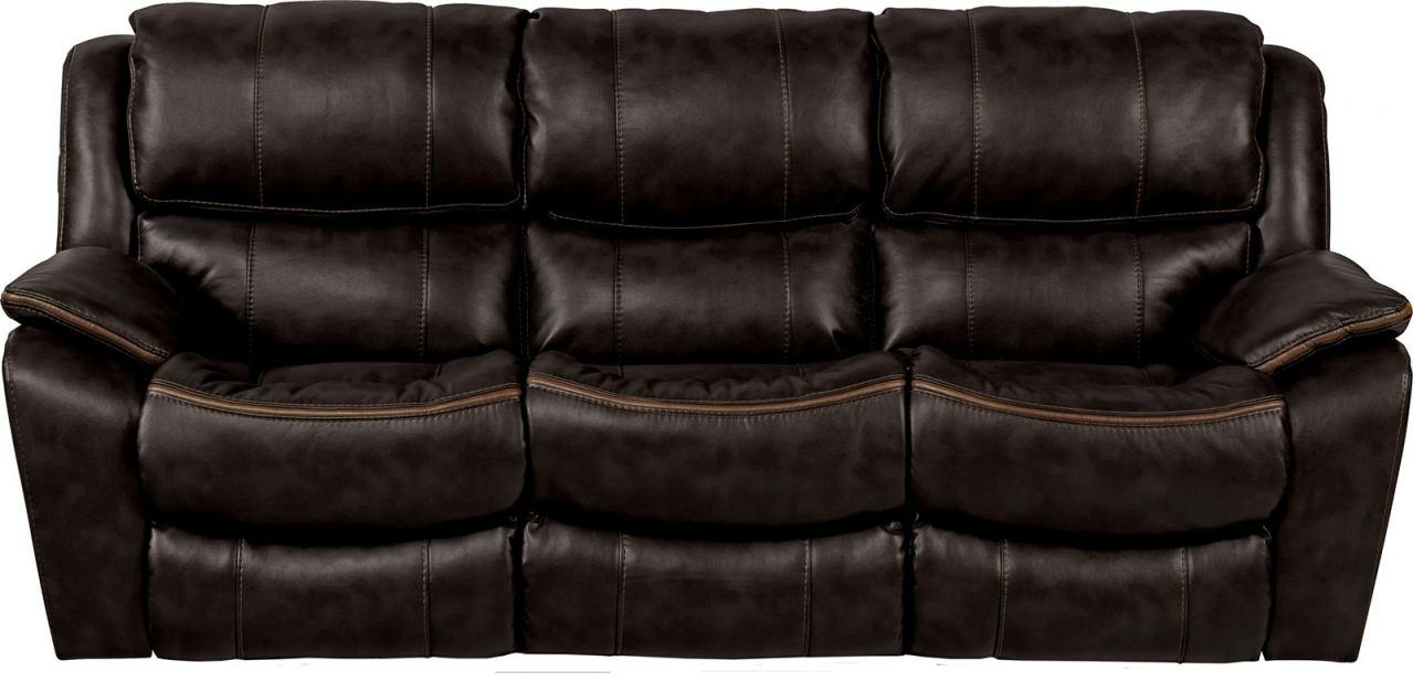 Beckett Reclining Sofa In Black 4511 Within Catnapper Reclining Sofas (Image 3 of 20)