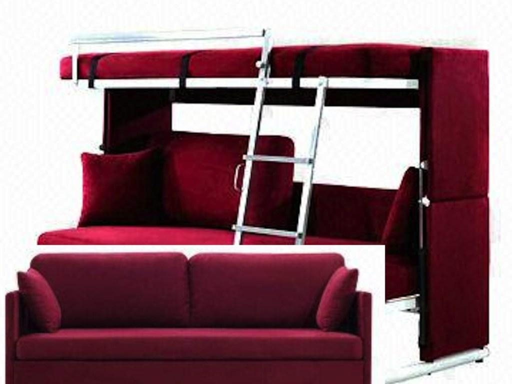 Bed Ideas : Amusing Bunk Beds With Sofa Underneath In Sofa Beds With Regard To Bunk Bed With Sofas Underneath (Image 2 of 20)