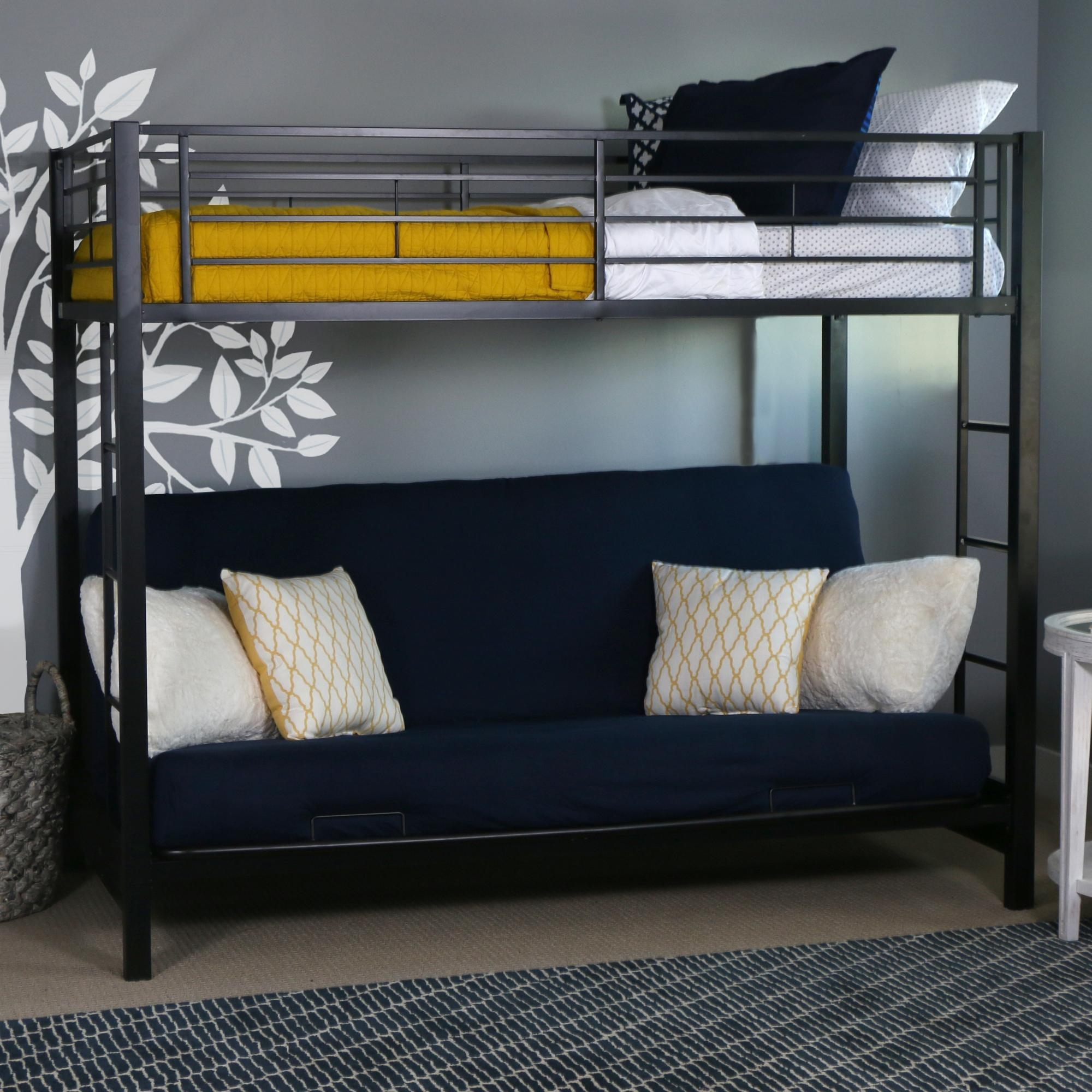 Bed With Bed Underneath – Creditrestore For Bunk Bed With Sofas Underneath (Image 3 of 20)