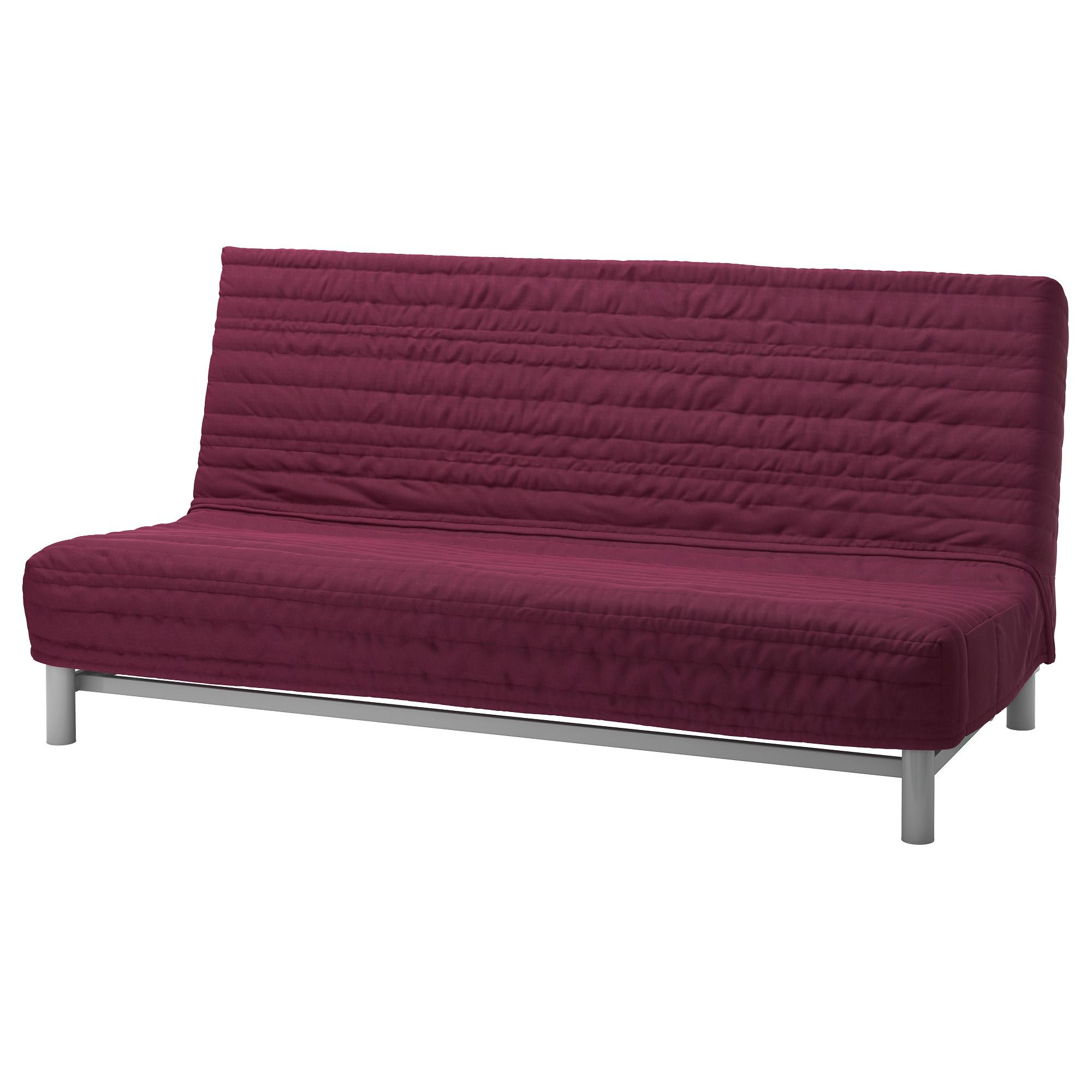 Beddinge Lövås Sleeper Sofa – Knisa Cerise – Ikea Regarding Sleeper Sofas (Image 1 of 20)
