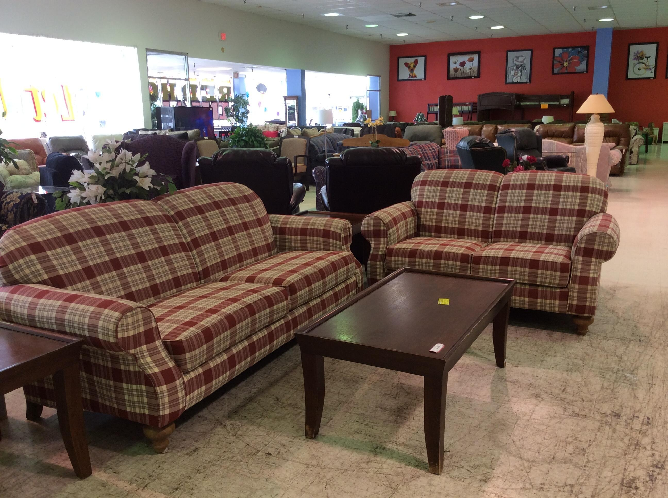Bedroom: Broyhill Furniture For Interesting Interior Furniture For Blue Plaid Sofas (View 17 of 20)