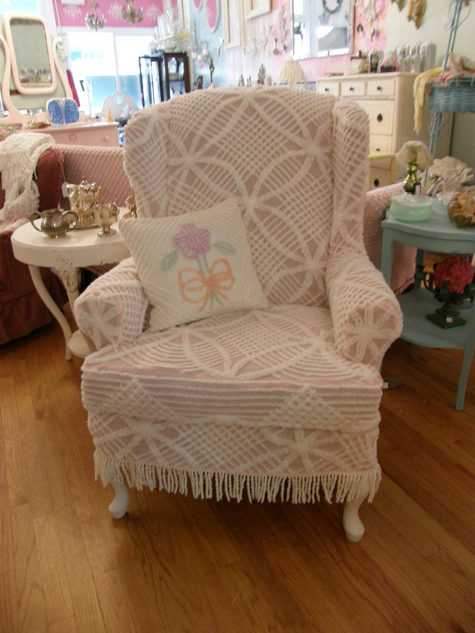 Bedroom: Extraordinary Wing Chair Recliner Slipcoverswalmart With Regard To Shabby Slipcovers (Image 2 of 20)