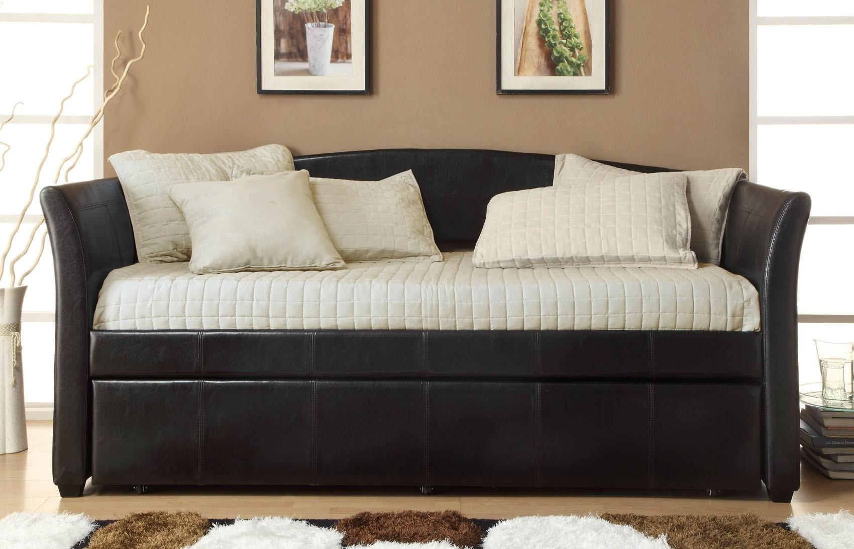Bedroom Furniture : Leather Sleeper Sofa Sofa Convertibles With Sofa Convertibles (View 13 of 20)