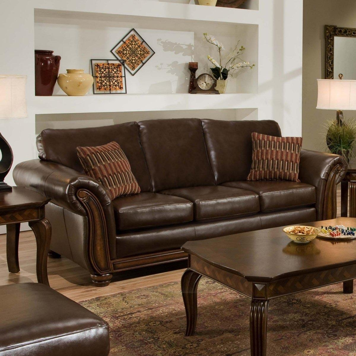 Bedroom: Snazzy Decorative Pillows For Couch Inspiring Your Pertaining To Brown Sofa Decors (Image 4 of 20)