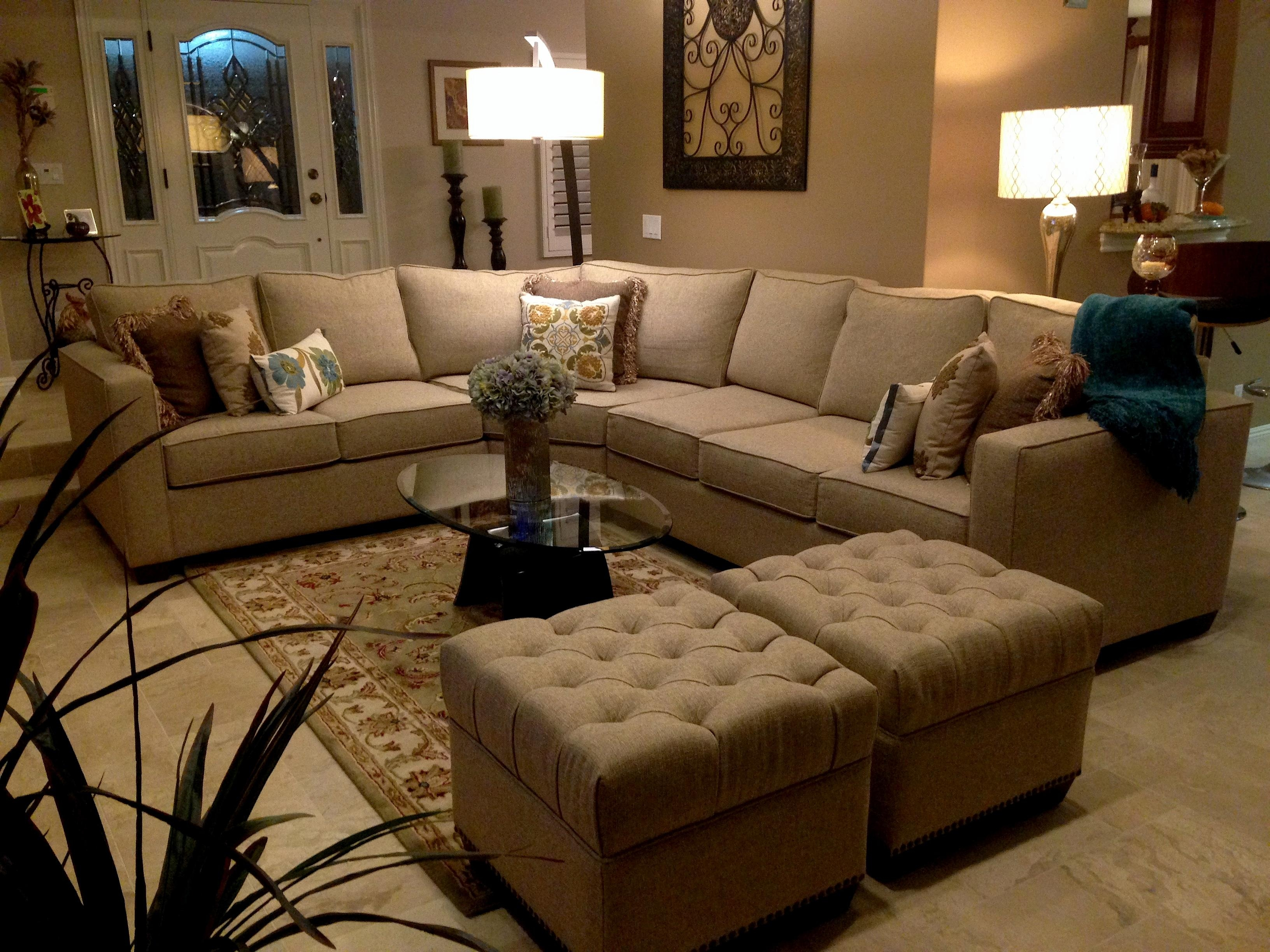 Beige Color Sectional Sofa | Tehranmix Decoration In Colored Sectionals (View 5 of 15)