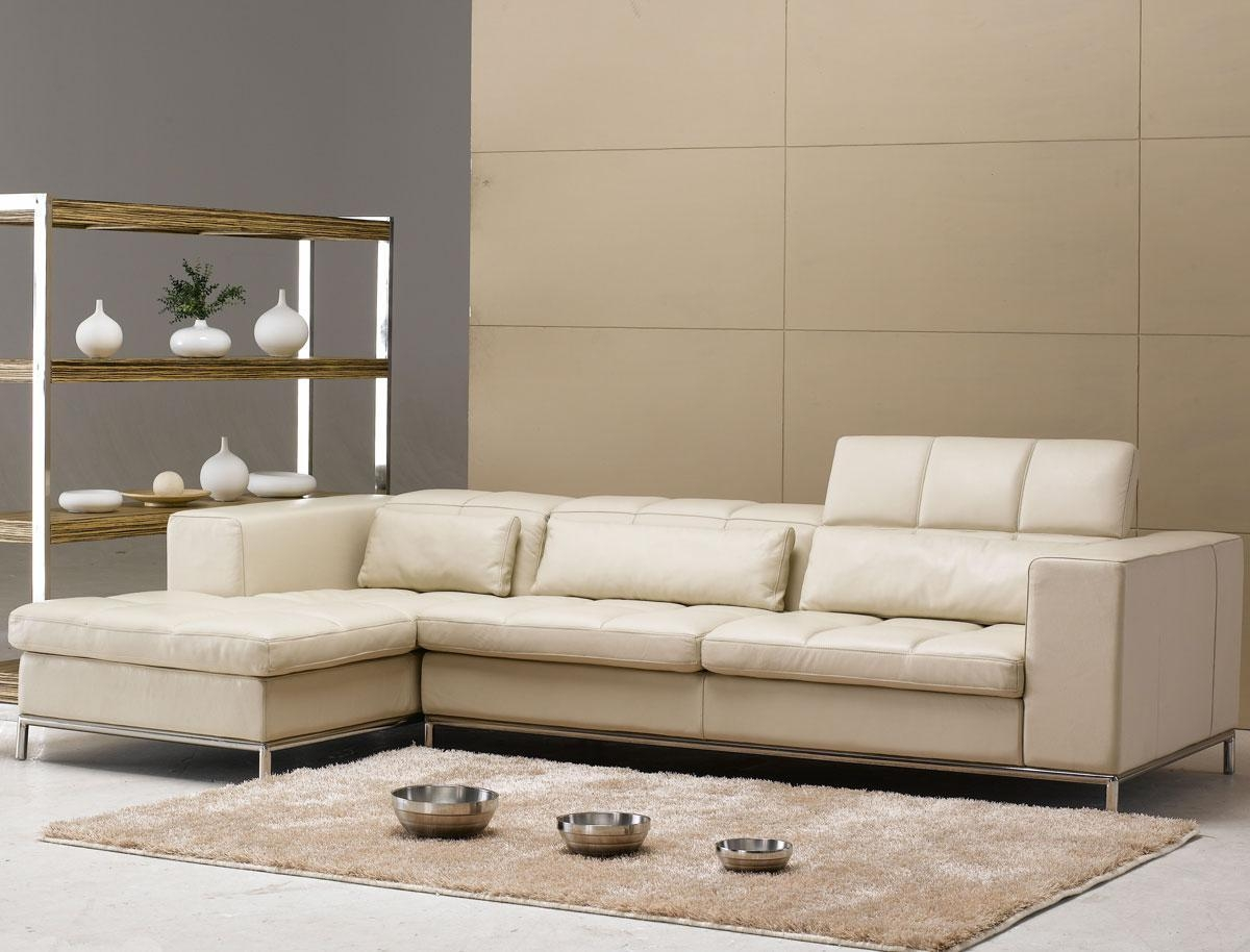 Beige Leather Sofas For Beige Sofas (Image 3 of 20)