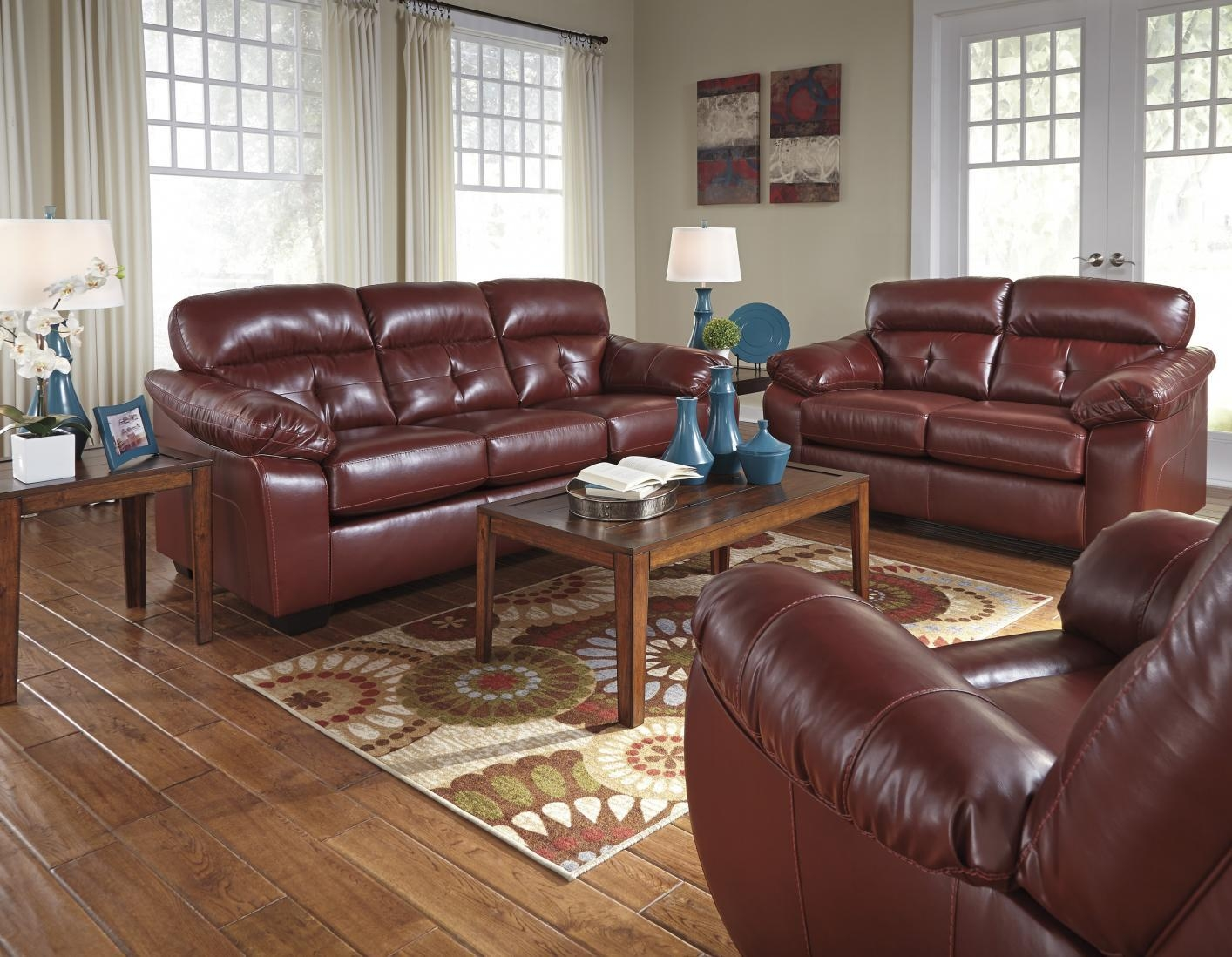 Benchcraft Leather Sofa With Ideas Photo 25331 | Kengire With Regard To Benchcraft Leather Sofas (Image 11 of 20)