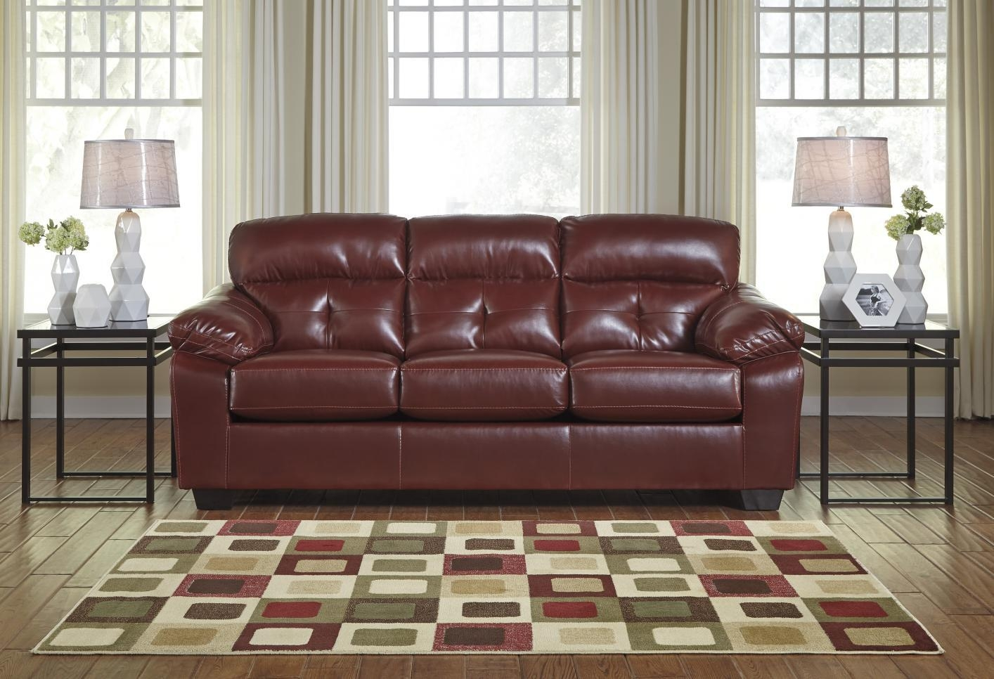 Benchcraft Leather Sofa With Ideas Photo 25331 | Kengire With Regard To Benchcraft Leather Sofas (Image 10 of 20)