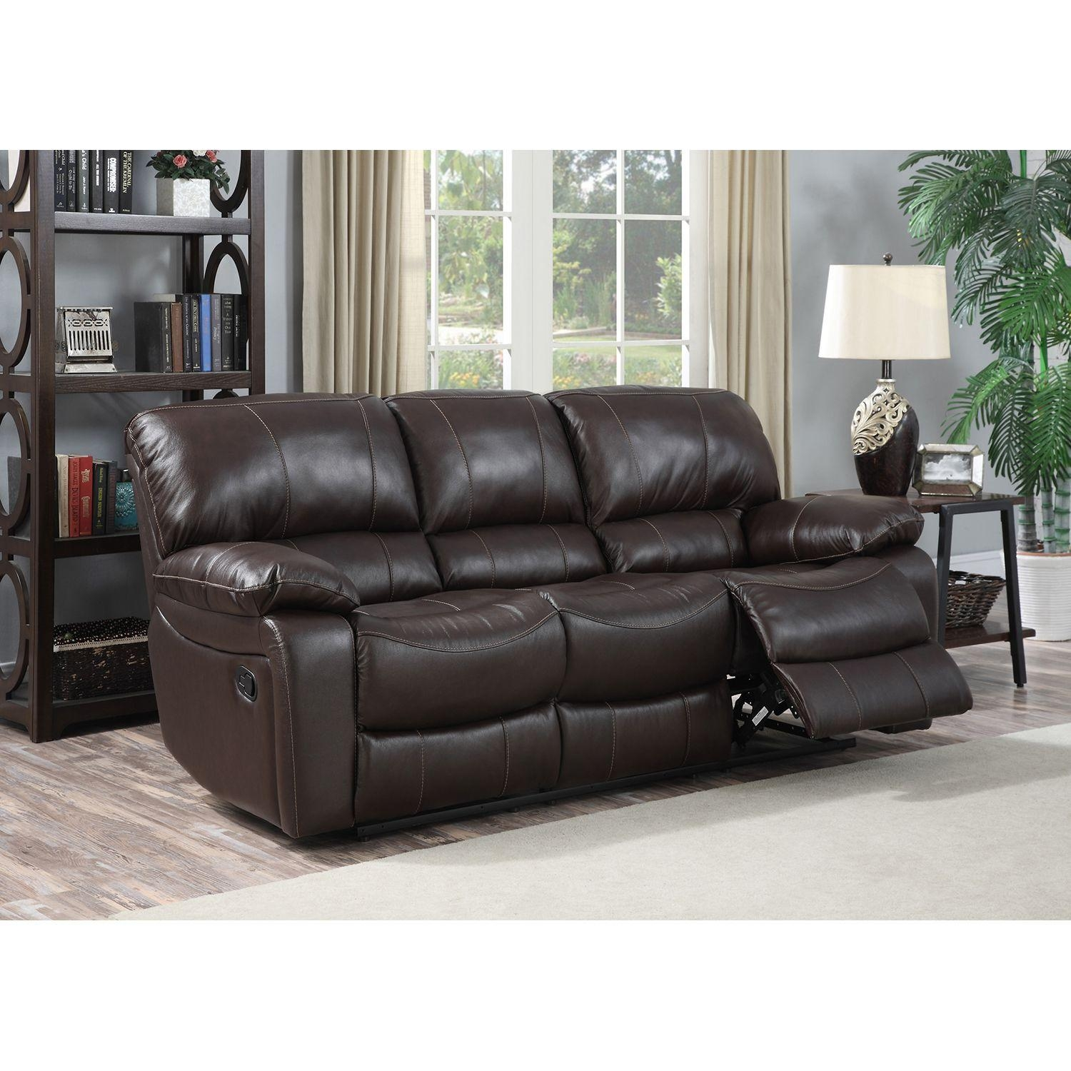 Recliner Leather Sofas: 20 Top Berkline Leather Recliner Sofas