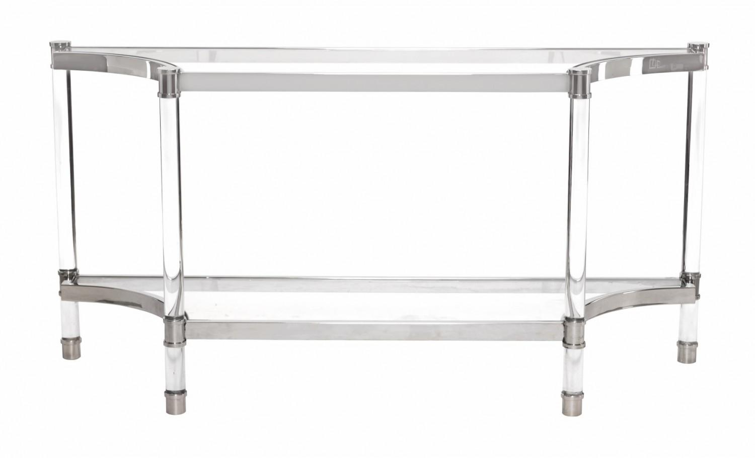 Bernhardt Furniture Soho Luxe Console Table With Regard To Bernhardt Console Tables (Image 3 of 20)