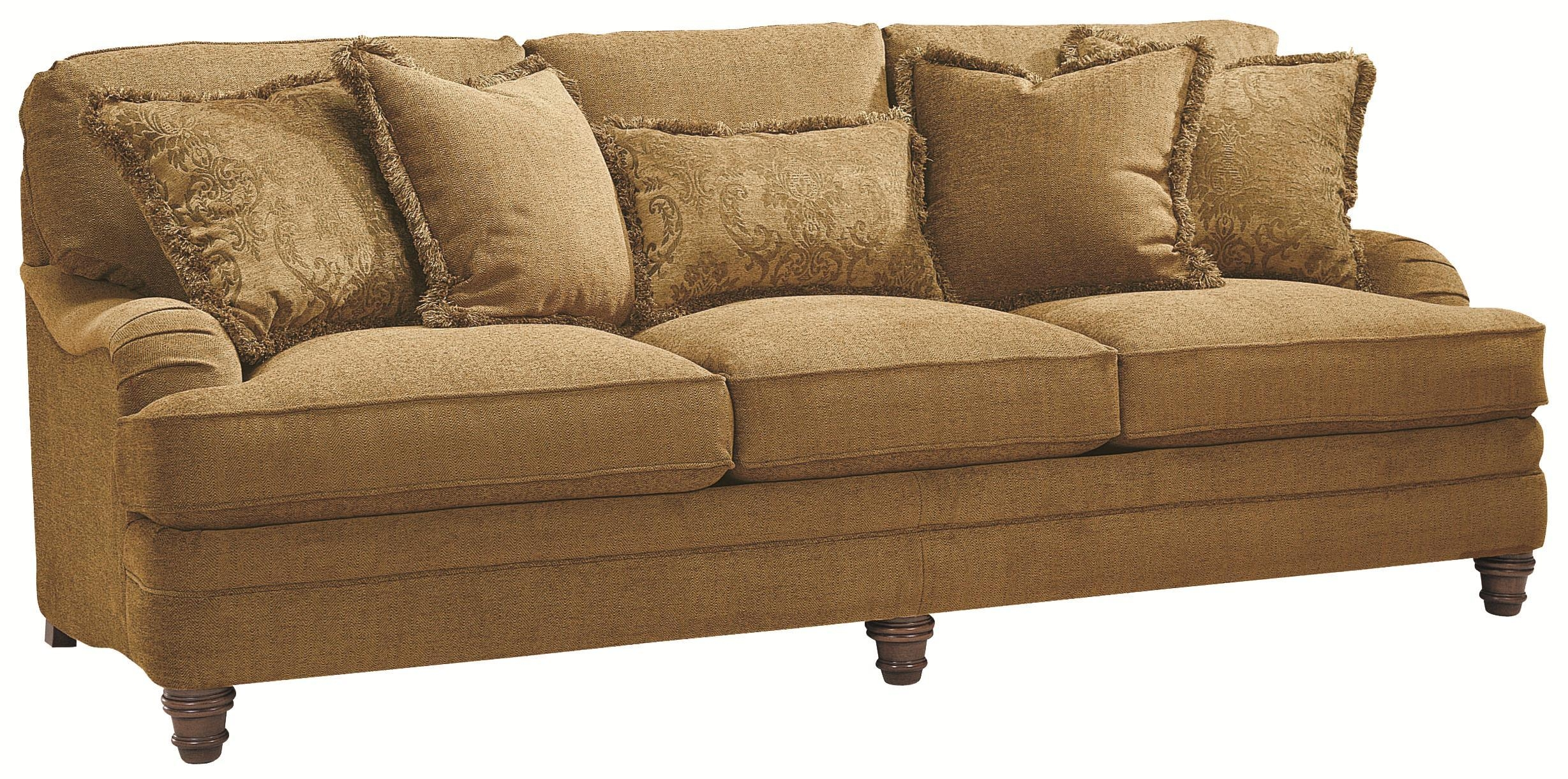 Bernhardt Tarleton Traditional Styled Stationary Sofa In Slightly Intended For Bernhardt Tarleton Sofas (Image 11 of 20)