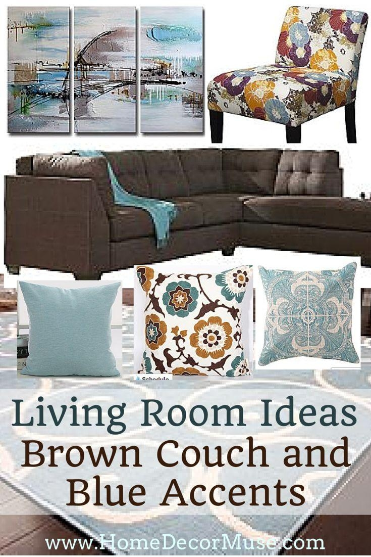 Best 10+ Brown Sofa Decor Ideas On Pinterest | Dark Couch, Living Intended For Brown Sofa Decors (Image 7 of 20)