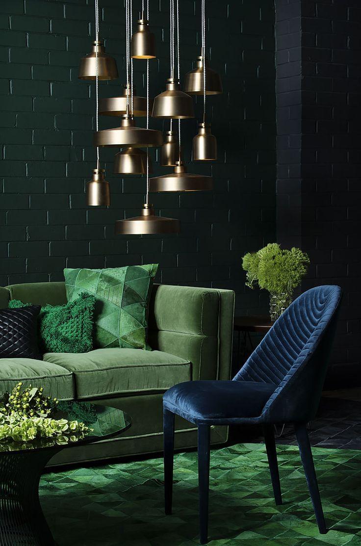 Best 10+ Green Couch Decor Ideas On Pinterest | Green Sofa, Velvet Regarding Emerald Green Sofas (Image 6 of 20)