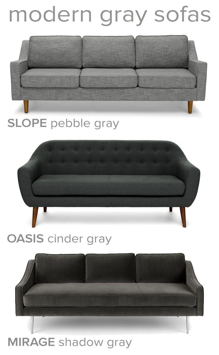 Best 20+ Dark Gray Sofa Ideas On Pinterest | Gray Couch Decor With Charcoal Grey Sofas (View 16 of 20)