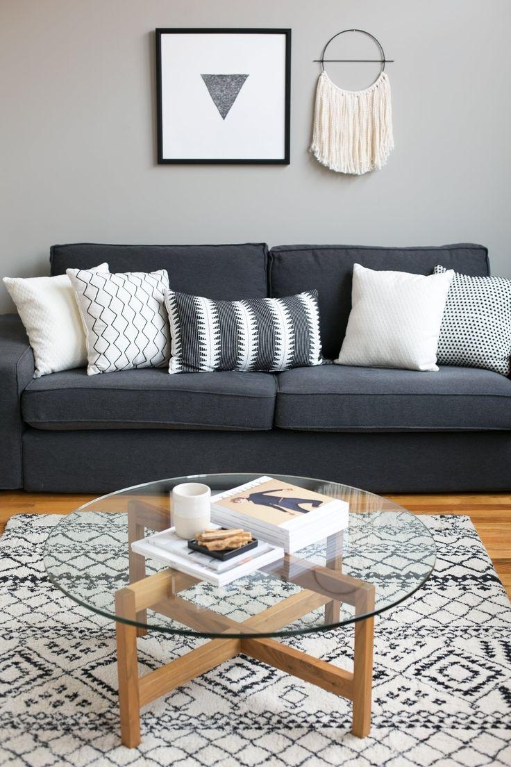 Best 20+ Dark Gray Sofa Ideas On Pinterest | Gray Couch Decor With Gray Sofas For Living Room (View 8 of 20)