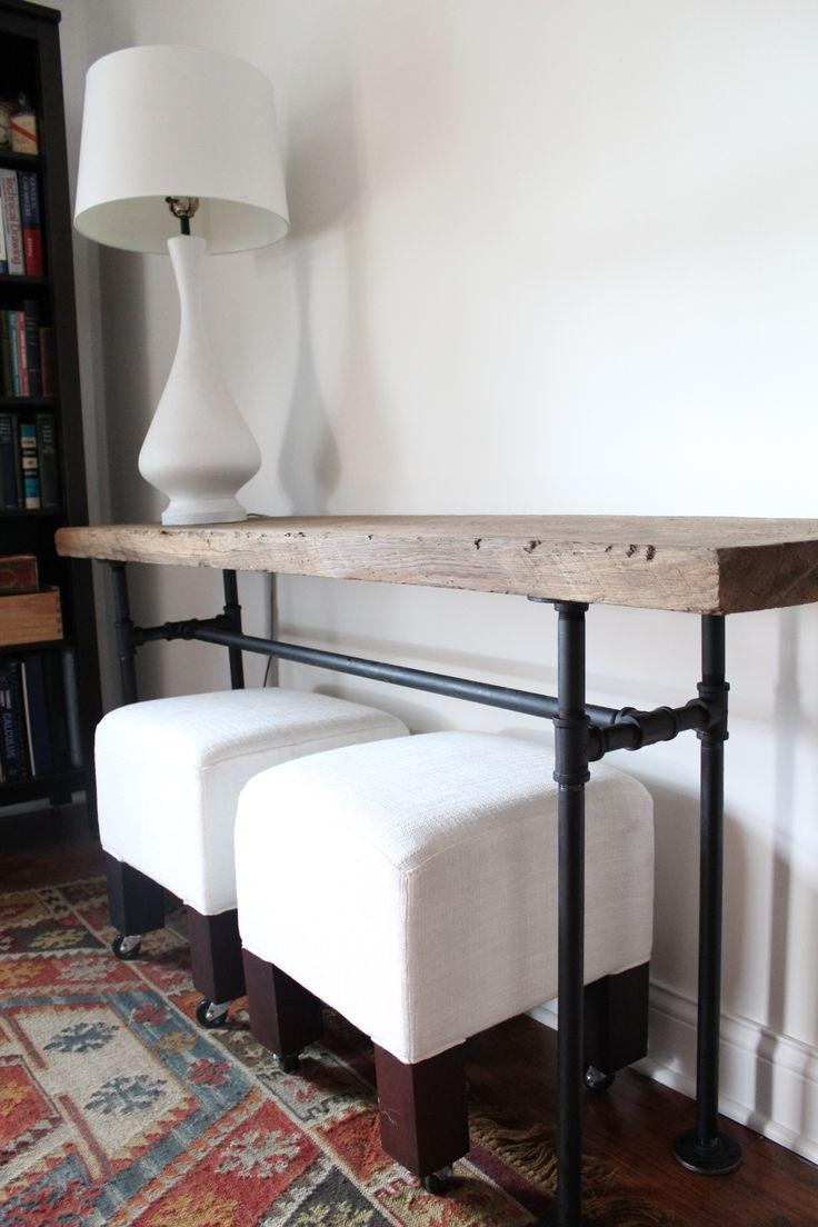 Best 20+ Diy Sofa Table Ideas On Pinterest | Diy Living Room, Diy Intended For Low Sofa Tables (Image 2 of 20)