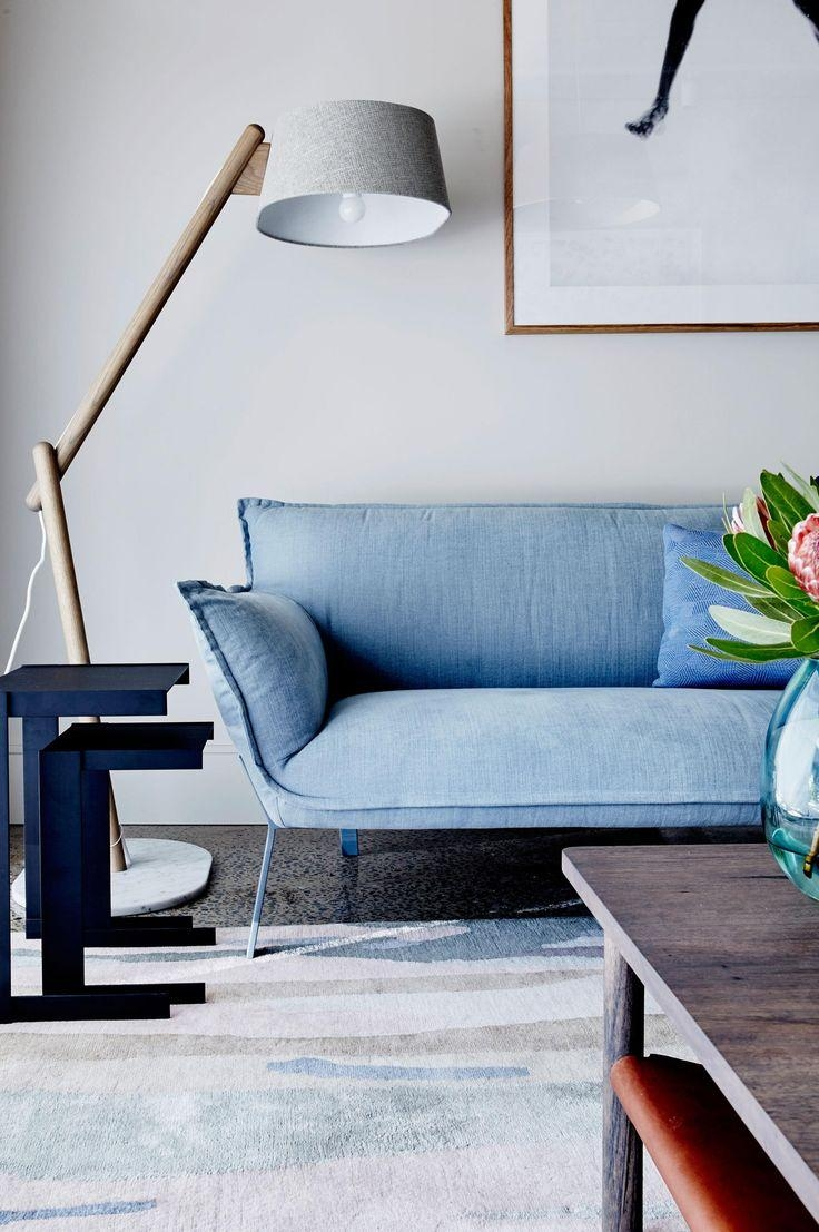 Best 20+ Light Blue Couches Ideas On Pinterest | Light Blue Sofa Throughout Blue Sofas (View 15 of 20)