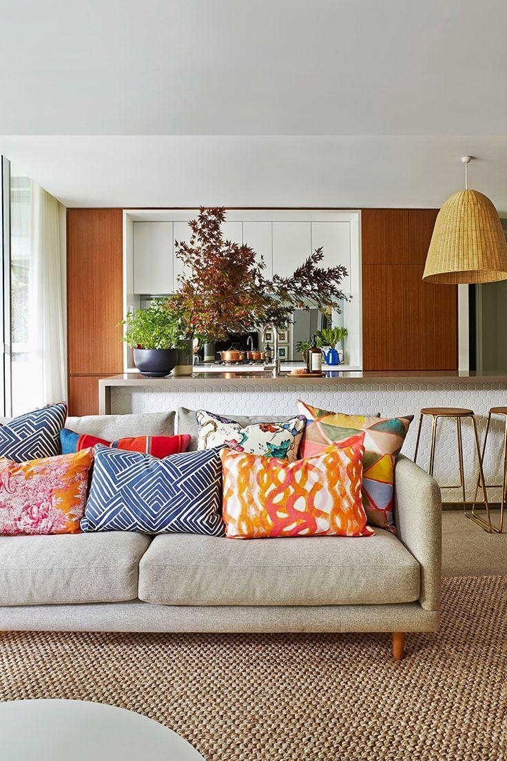 Best 20+ Mismatched Sofas Ideas On Pinterest | Living Spaces Rugs Throughout Colorful Sofas And Chairs (Image 2 of 20)