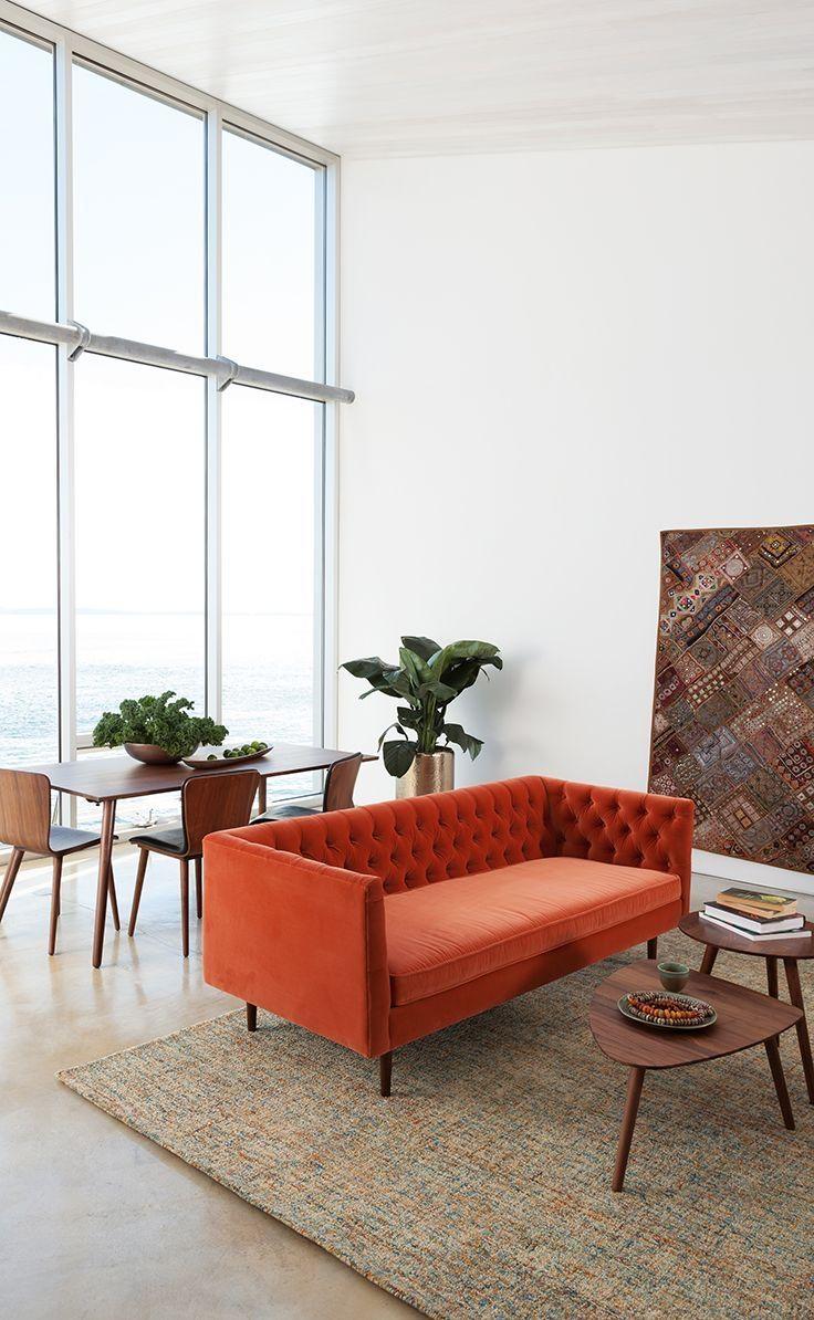 Best 20+ Orange Sofa Ideas On Pinterest | Orange Sofa Design For Orange Sofa Chairs (View 15 of 20)
