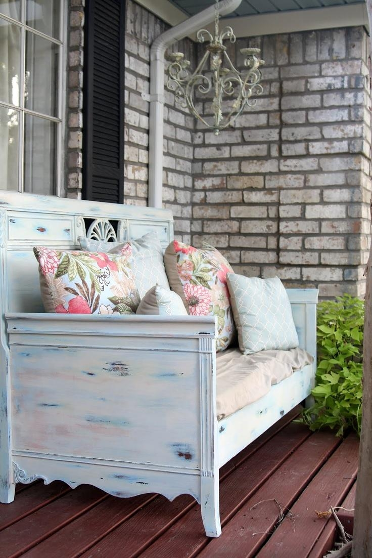 Best 20+ Shabby Chic Patio Ideas On Pinterest | Shabby Chic Porch Inside Shabby Chic Sectional Sofas Couches (Image 1 of 21)