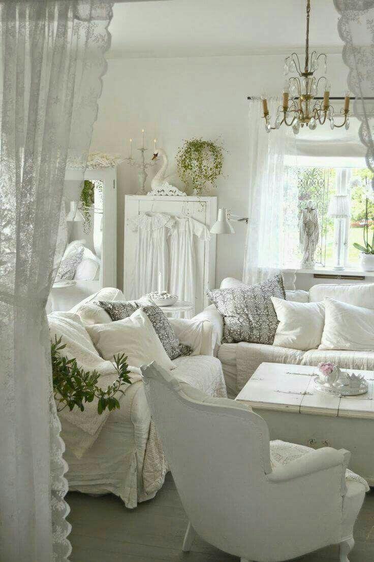 Best 20+ Shabby Chic Sofa Ideas On Pinterest | Shabby Chic Couch Inside Shabby Chic Sofa Slipcovers (View 15 of 20)